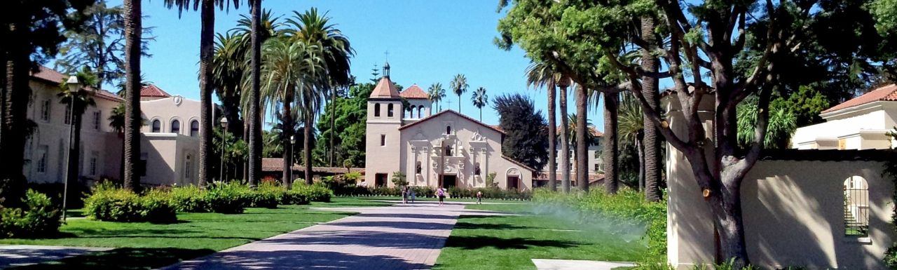 "Historic church and Walsh administration building at Santa Clara University. <br/>Image courtesy of <a href=""https://en.wikipedia.org/wiki/User:SCUMATT"" title=""wikipedia:User:SCUMATT"">SCUMATT</a> at <a href=""https://en.wikipedia.org/wiki/"" class=""extiw"" title=""wikipedia:"">English Wikipedia</a>. Used under the <a href=""https://en.wikipedia.org/wiki/en:Creative_Commons"" title=""w:en:Creative Commons"">Creative Commons</a> <a rel=""nofollow"" class=""external text"" href=""https://creativecommons.org/licenses/by-sa/3.0/deed.en"">Attribution-Share Alike 3.0 Unported</a> license."